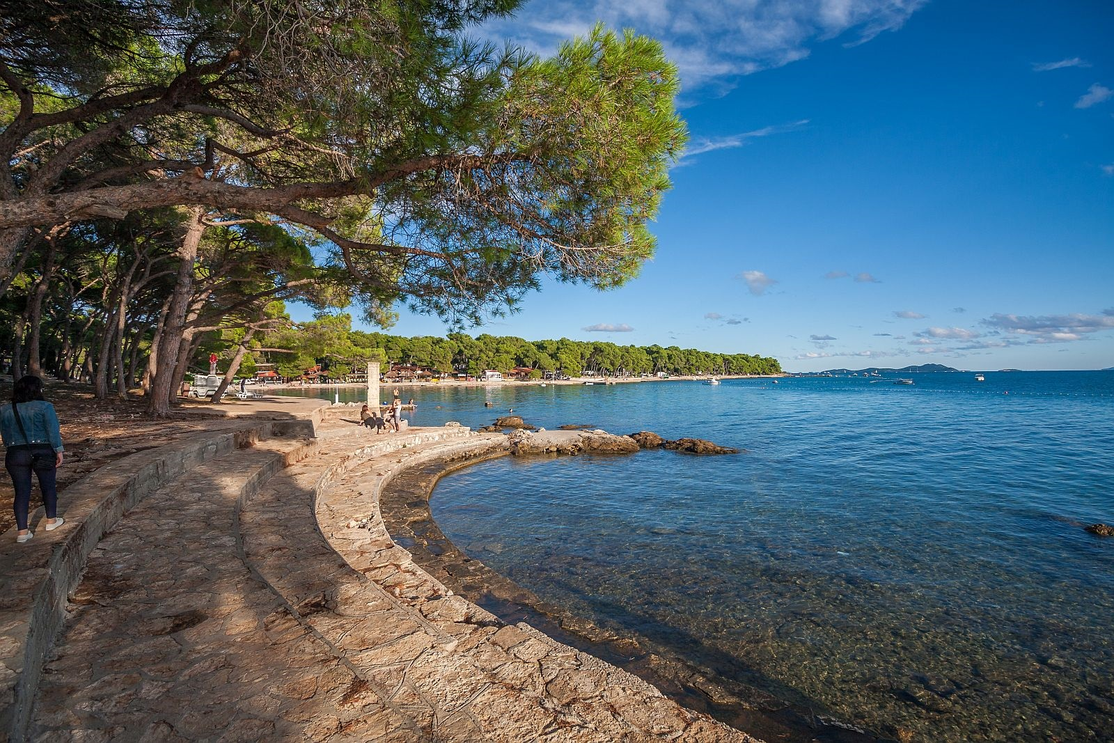 biograd na moru, croatia, dalmatia, adriatic, holiday, vacation,