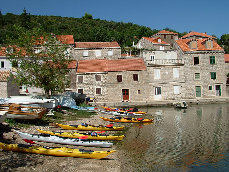Kayaking, sunset kayaking, Sunj, Lopud, activities, Sveti Andrija Island, Croatia