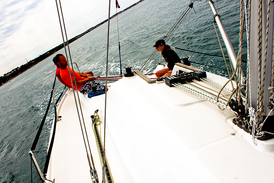 Sailing, Beginners course, sailing course, basics of sailing, sailboat, Croatia