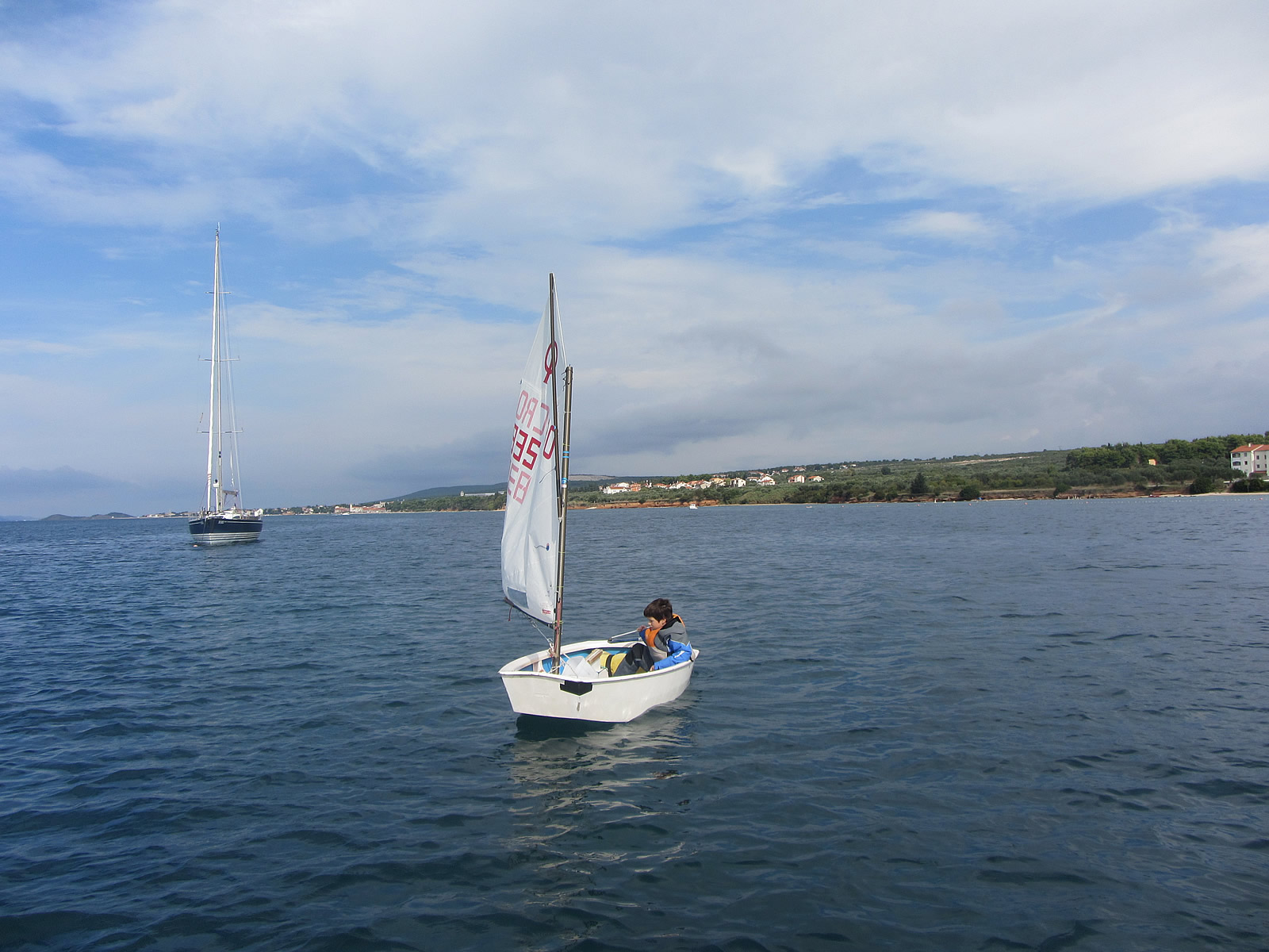 sailing school biograd