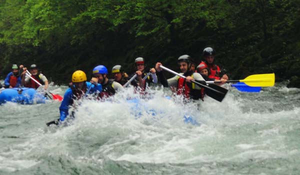 Una, Una river, rafting, forests, activities, Croatia