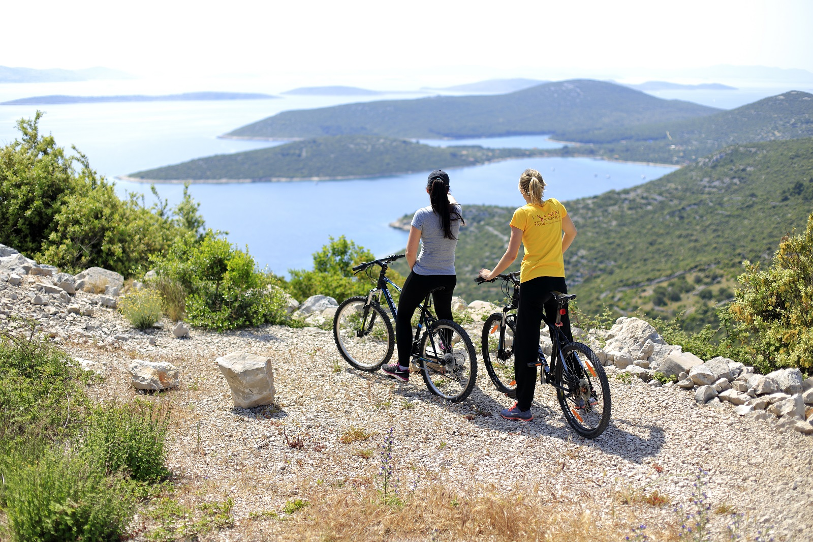 Sail, cycle, swimming, excursions, activity trips, Croatia, Island of Pasman