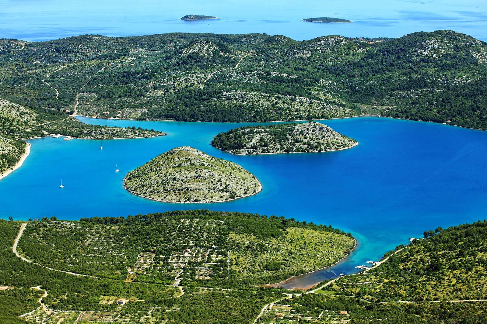 National Park Kornati, Nature Park Telascica, National park, nature park, Telascica, excursions, Croatia