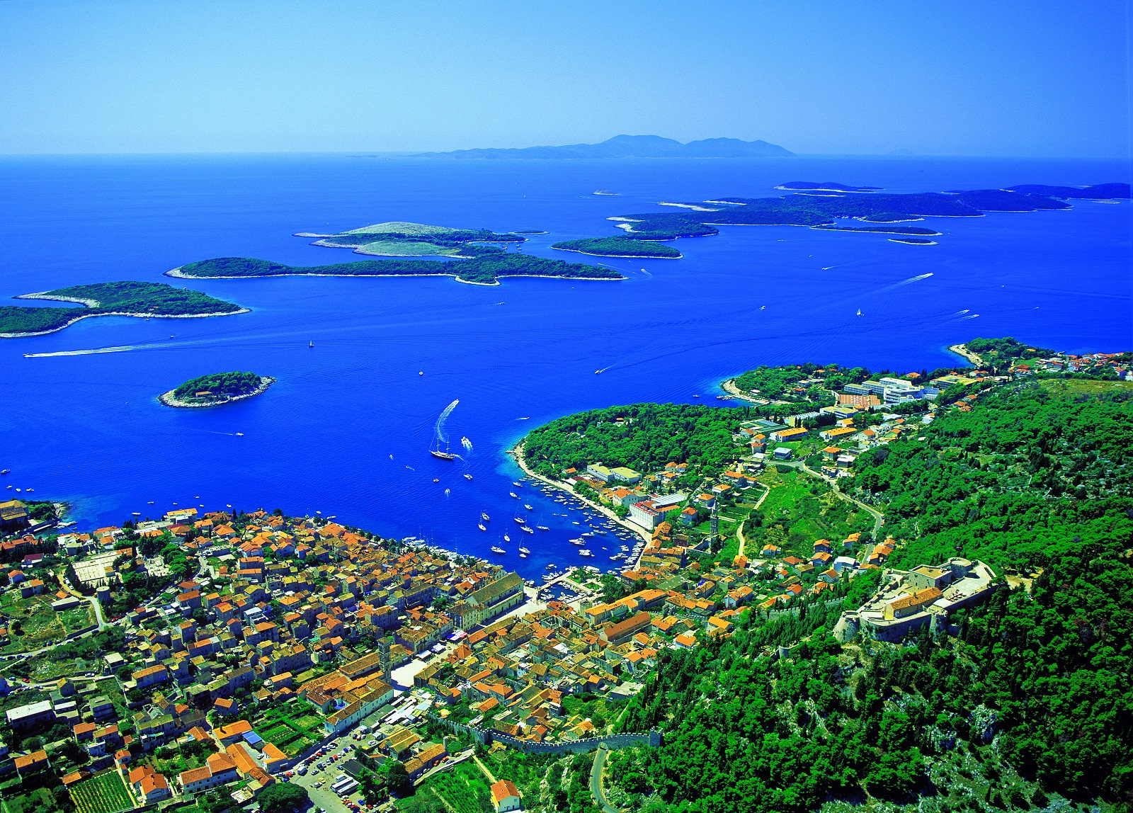 Hvar, Pakleni island,bike ride, sailing, sea kayak trip, trekking, Croatia