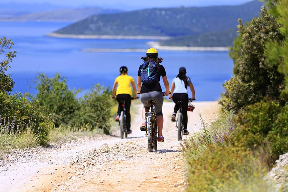 cycling,  bicycles, bikes, bike trip, Pakostane, Biograd, Pasman, Croatia
