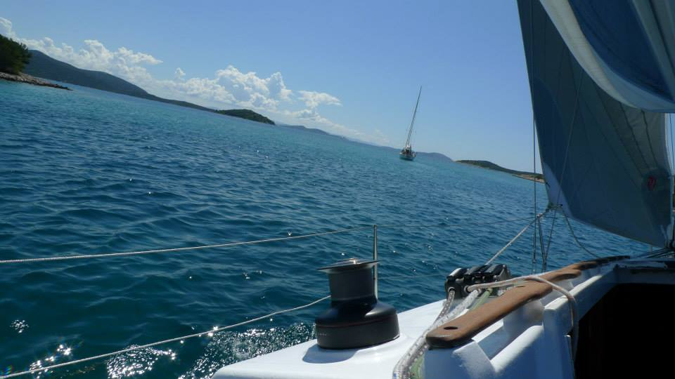 boat ride, Love canal, sailing, swimming, sailing boat, Croatia