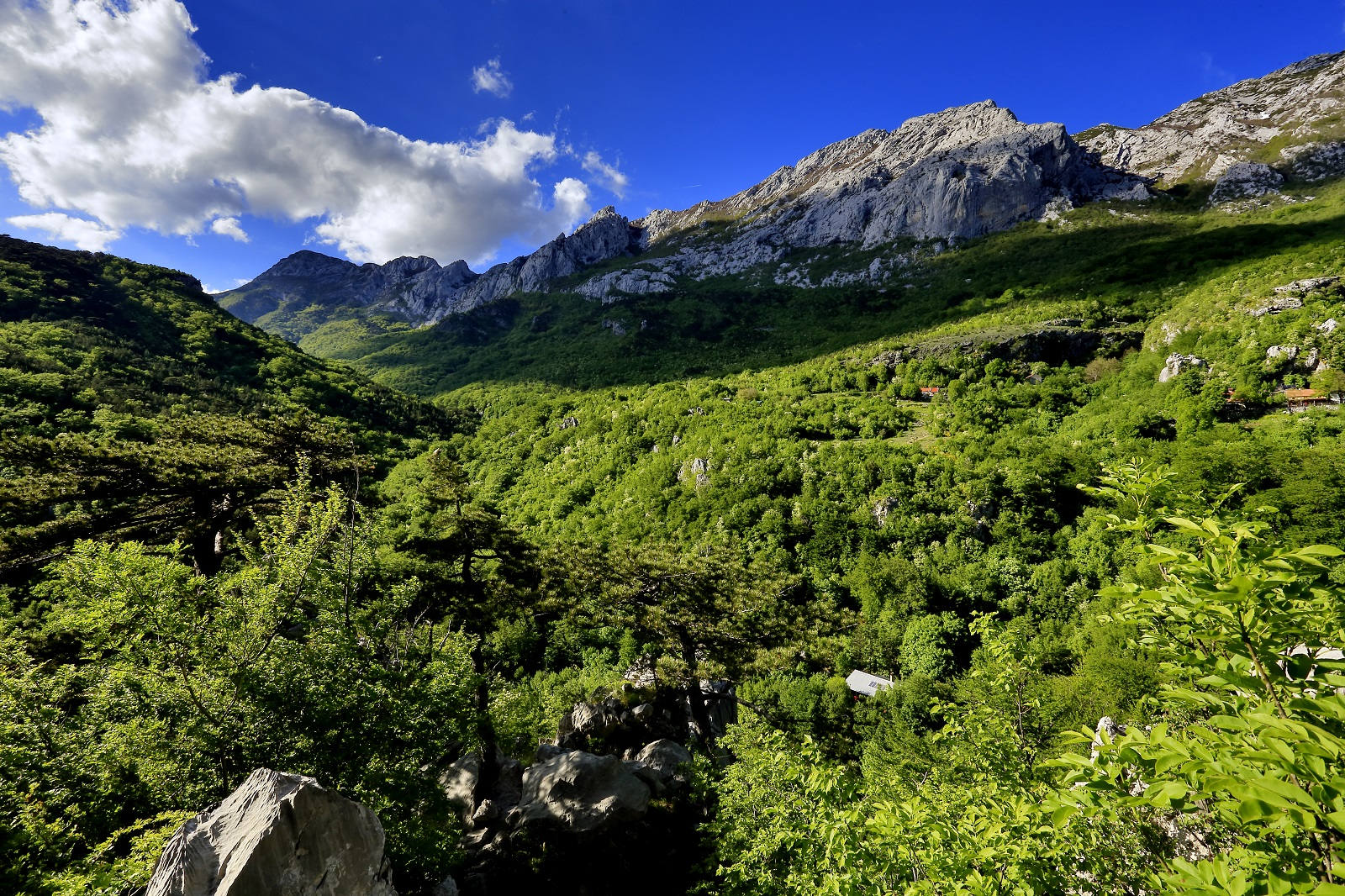Trekking, Paklenica mountains, National Park, hiking, rock climbing,