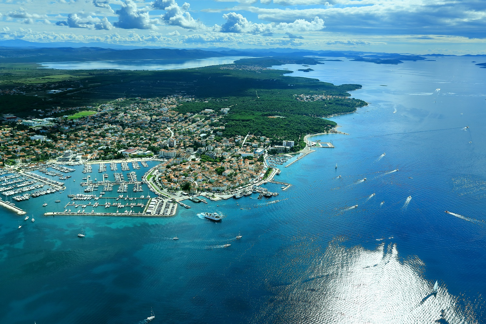 White Town on the Sea, Croatia, Biograd na moru, Dalmatia